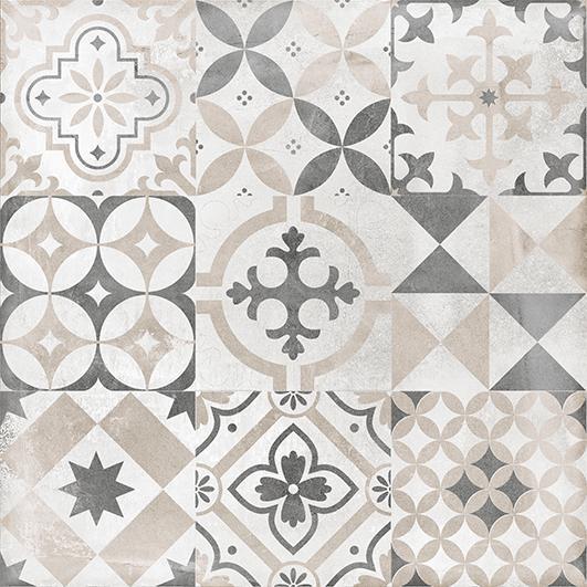 Цемент Стайл Керамогранит орнамент 6046-0359