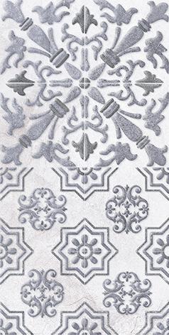 Кампанилья Плитка настенная тёмно-серая 1041-0253Кампанилья Декор 1 серый 1641-0091