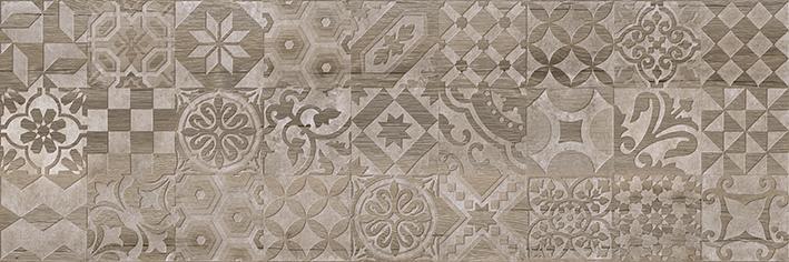 Альбервуд Декор 1 коричневый 1664-0165