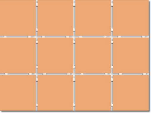 1231 Конфетти полотно из 12 частей 9,9*9,9