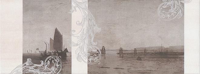 Декор Ньюпорт Корабли коричневый STG\A208\15010