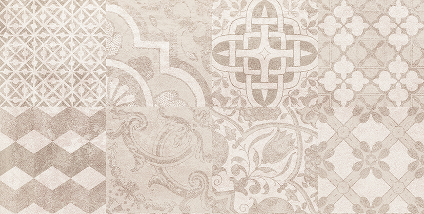 Bastion Плитка настенная мозаика бежевый 08-00-11-453