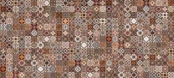 Hammam облицовочная плитка рельеф коричневый (HAG111D)