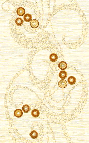 Декор Шелк желтый