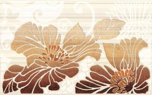 Вставка кензо коричневый 137501