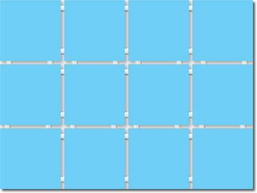 1211 Конфетти полотно из 12 частей 9,9*9,9