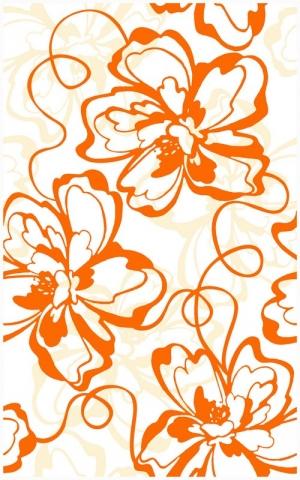 Декор Монро оранжевый