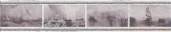 Бордюр Ньюпорт Корабли фиолетовый STG\C209\15010