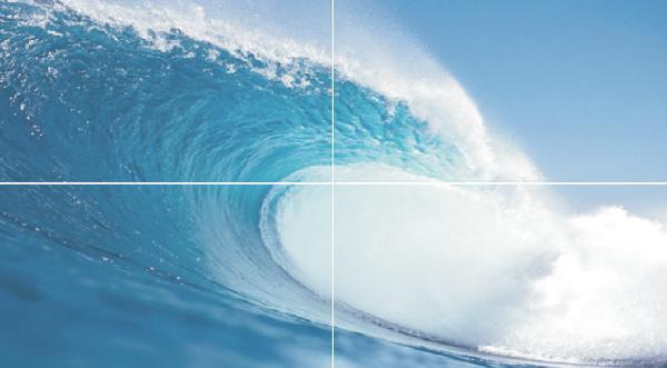 Панно Dec Wave (панно из 4-х шт)