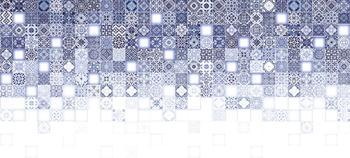 Hammam облицовочная плитка рельеф многоцветный (HAG451D)