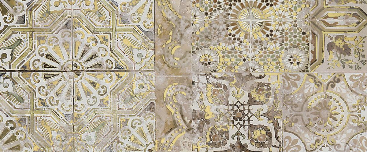 Patchwork beige Декор 01