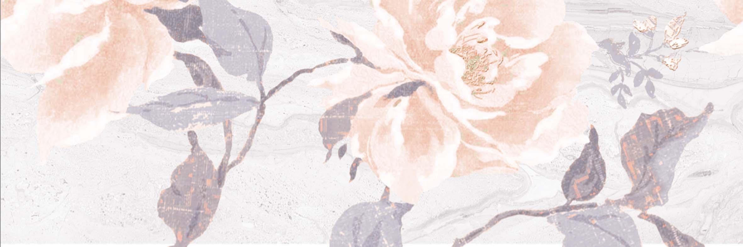Декор Даф серый (04-01-1-17-03-06-645-0)