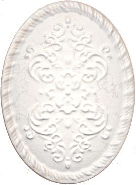 Декор Белгравия светлый OBA004
