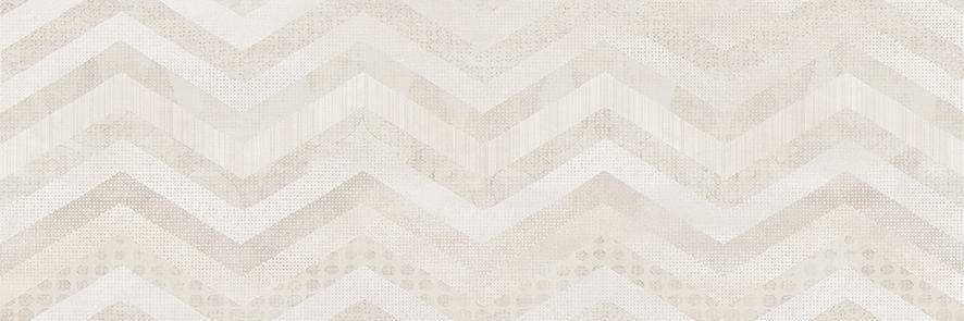 Shevron Плитка настенная декорированная бежевый (VNU011D)
