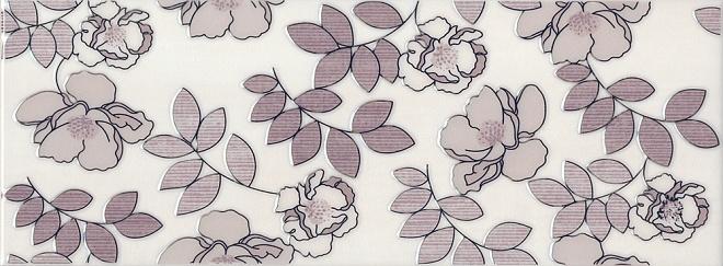 Декор Ньюпорт Цветы фиолетовый STG\C182\15010