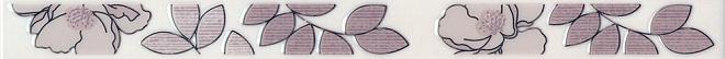 Бордюр Ньюпорт Цветы фиолетовый STG\C235\15010