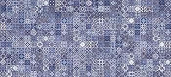 Hammam облицовочная плитка рельеф голубой (HAG041D)