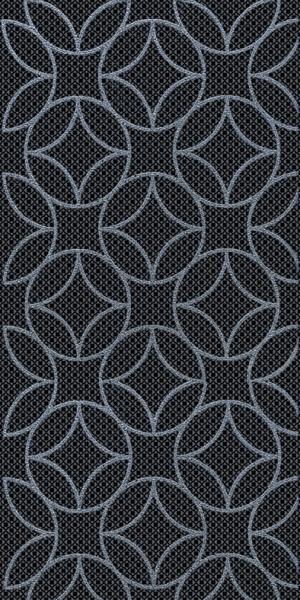 Декор Аллегро геометрия черный