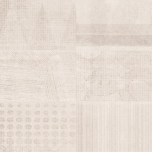Shevron Керамогранит декорированный бежевый (VN4R012D)