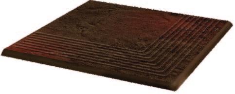 Semir Brown Ступень рифленая наружная структурная