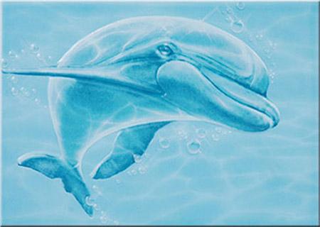 Декор дельфин