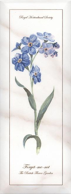 Декор Ноттингем Цветы грань NT\A83\15005