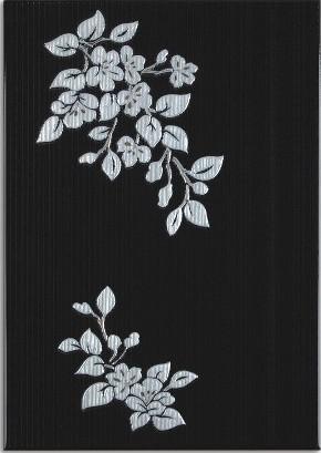 Декор Капри 2 черный