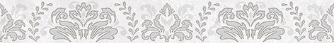 Afina Damask Бордюр серый 56-03-06-456