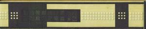 Бордюр Богемия широкий