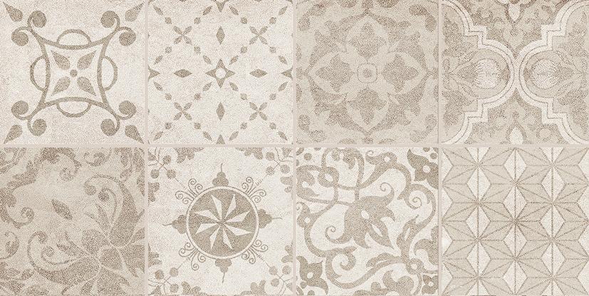 Bastion Декор с пропилами мозаика бежевый 08-03-11-453