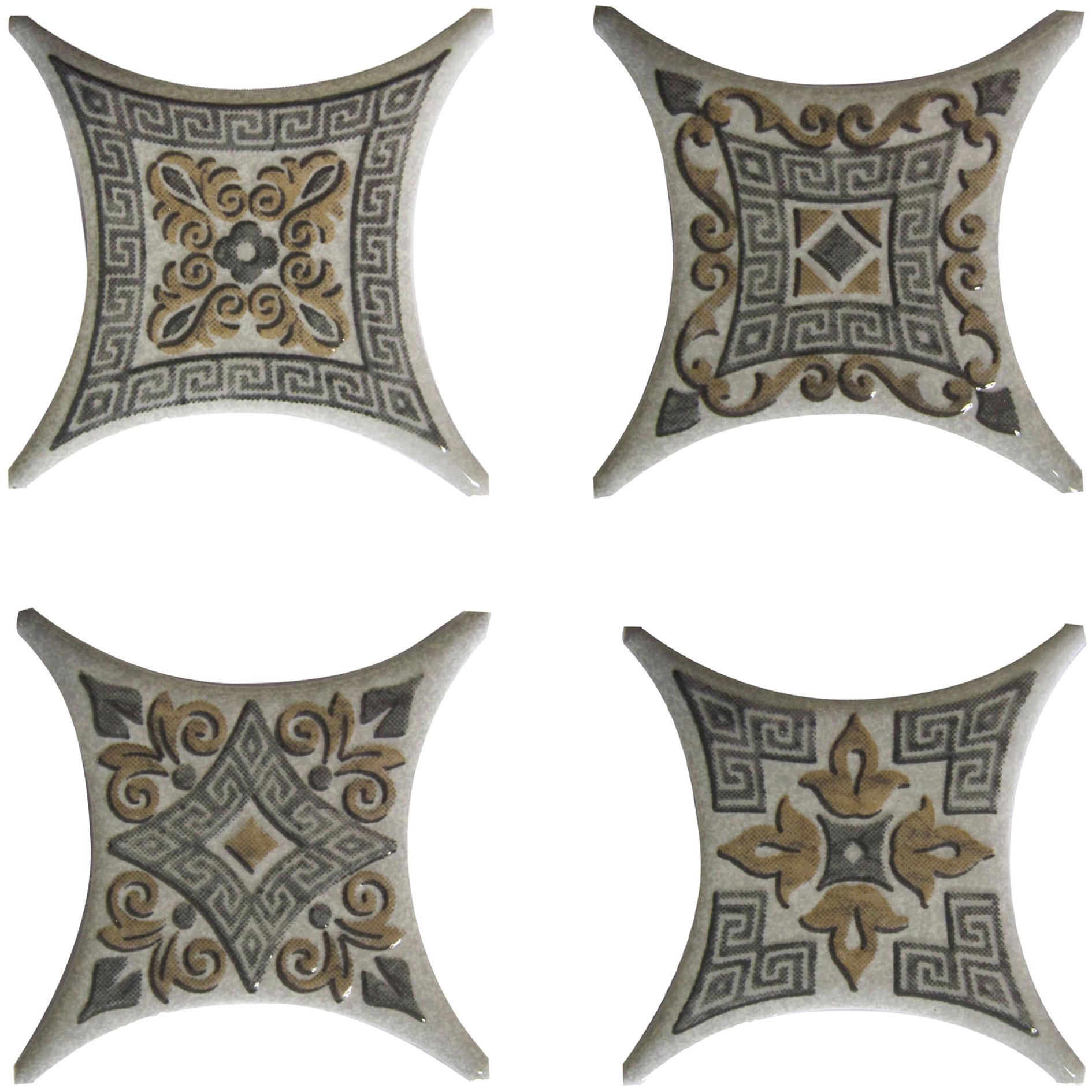Вставка Estrella Set 1 Gris (4 вида)