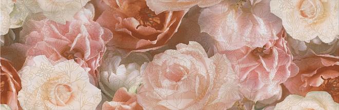 STG/A590/13032R Декор Контарини Цветы обрезной