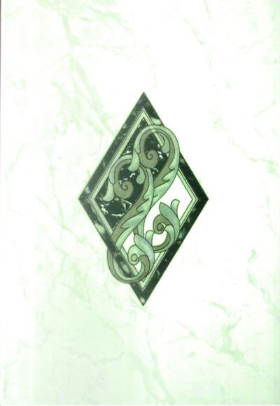 Декор карелия зеленый