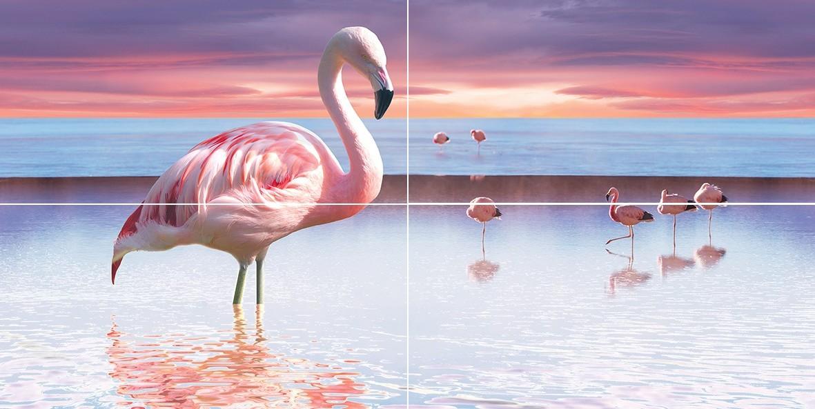 Flamingo (из 4 шт.) 50х100