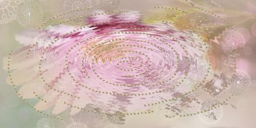 декор Мечта Цветок (отражение) 08-05-23-370-2