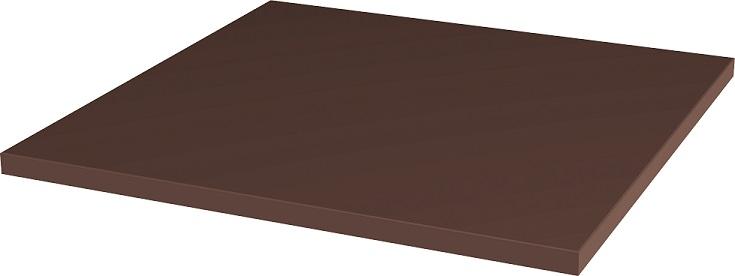 Natural Brown Плитка базовая гладкая
