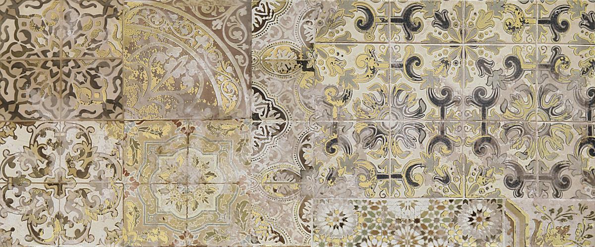 Patchwork beige Декор 02