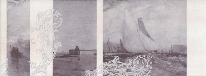 Декор Ньюпорт Корабли фиолетовый STG\C207\15010