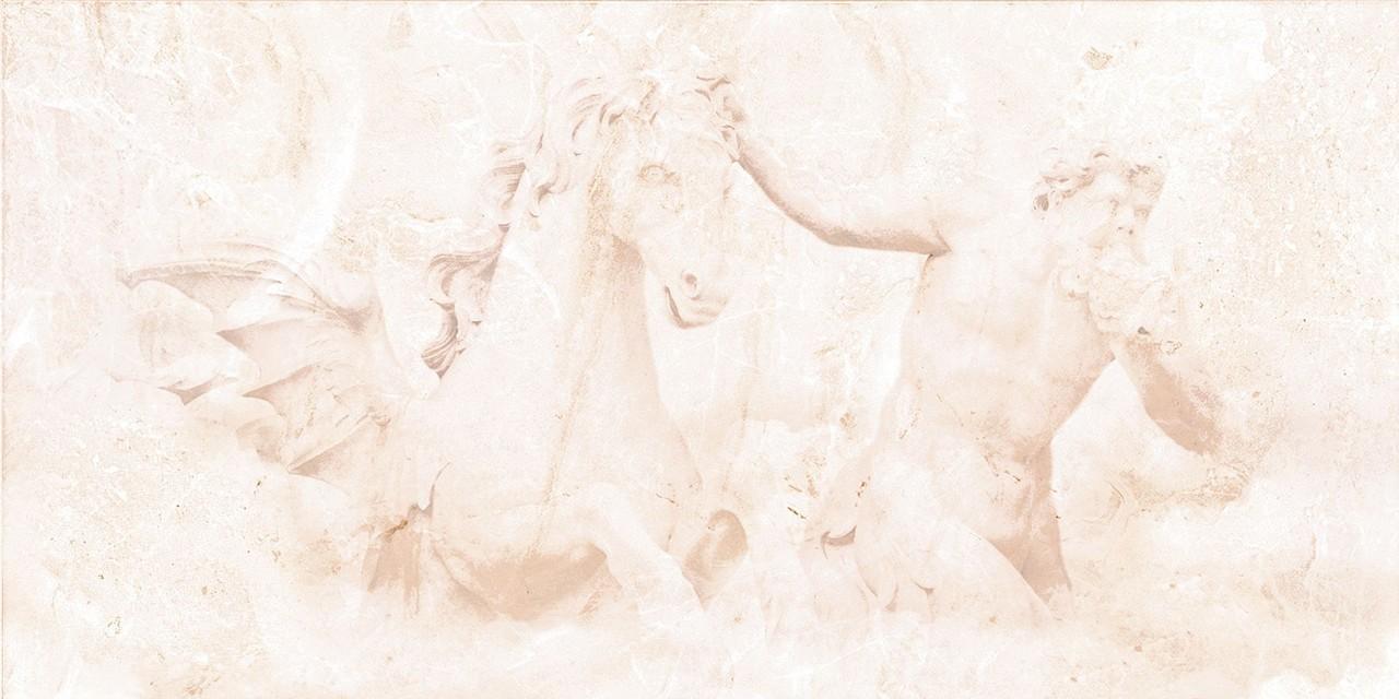Декор Petra Светло-бежевый C-PR2L304D конь