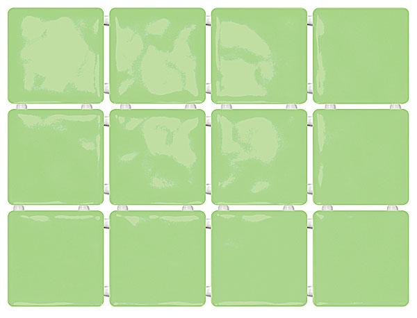 1237 Сезоны зеленый, полотно из 12 частей 9,9*9,9