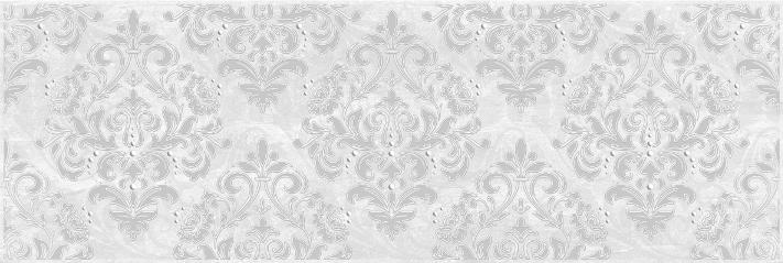 Мармара Арабеска Декор серый 17-03-06-661