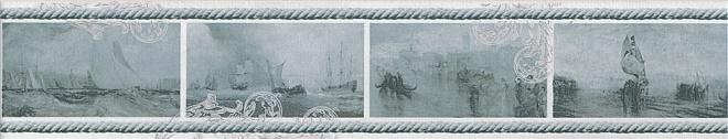 Бордюр Ньюпорт Корабли зеленый STG\B209\15016