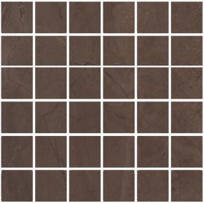 MM11139 Декор Версаль коричневый мозаичный