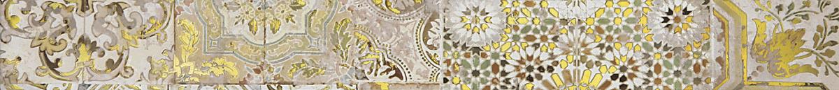 Patchwork beige Бордюр 01