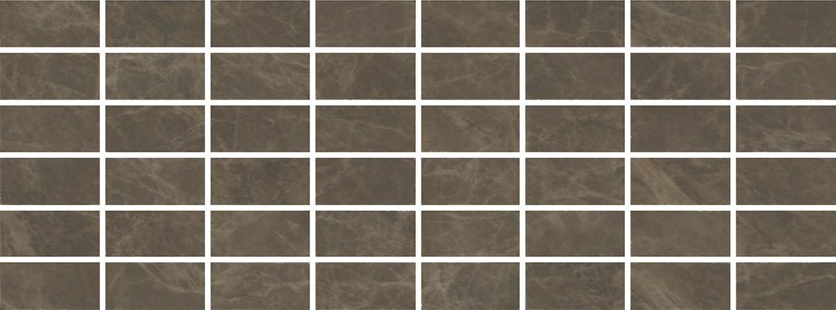 MM15139 Декор Лирия коричневый мозаичный