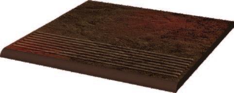 Semir Brown Ступень рифленая простая структурная