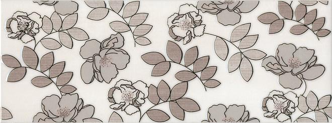 Декор Ньюпорт Цветы коричневый STG\A182\15010
