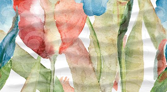 Dec Tulip Panno C