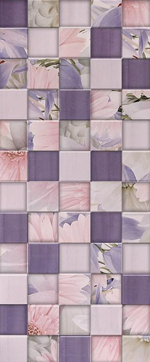 Aquarelle lilac Плитка настенная 03