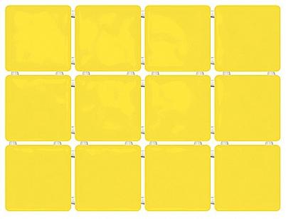 1238 Сезоны желтый, полотно из 12 частей 9,9*9,9